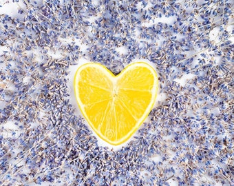Lemon and Lavender Essential Oil Probiotic Cake - Instant Download PDF Recipe