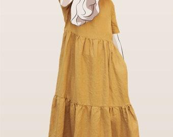 Smock Dress PDF Sewing Pattern - Sage Smock Dress Pattern - Women's PDF Sewing Pattern - Ladies PDF Dress Pattern