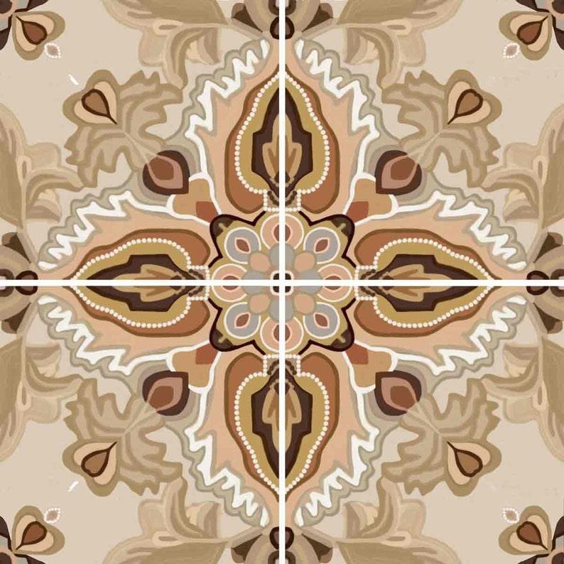 Etonnant Ambrosia Ceramic Decorative Tile Backsplash 12 Inch Mural