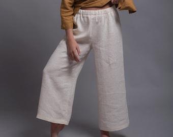 2fcc6670aea Linen Trousers YANK