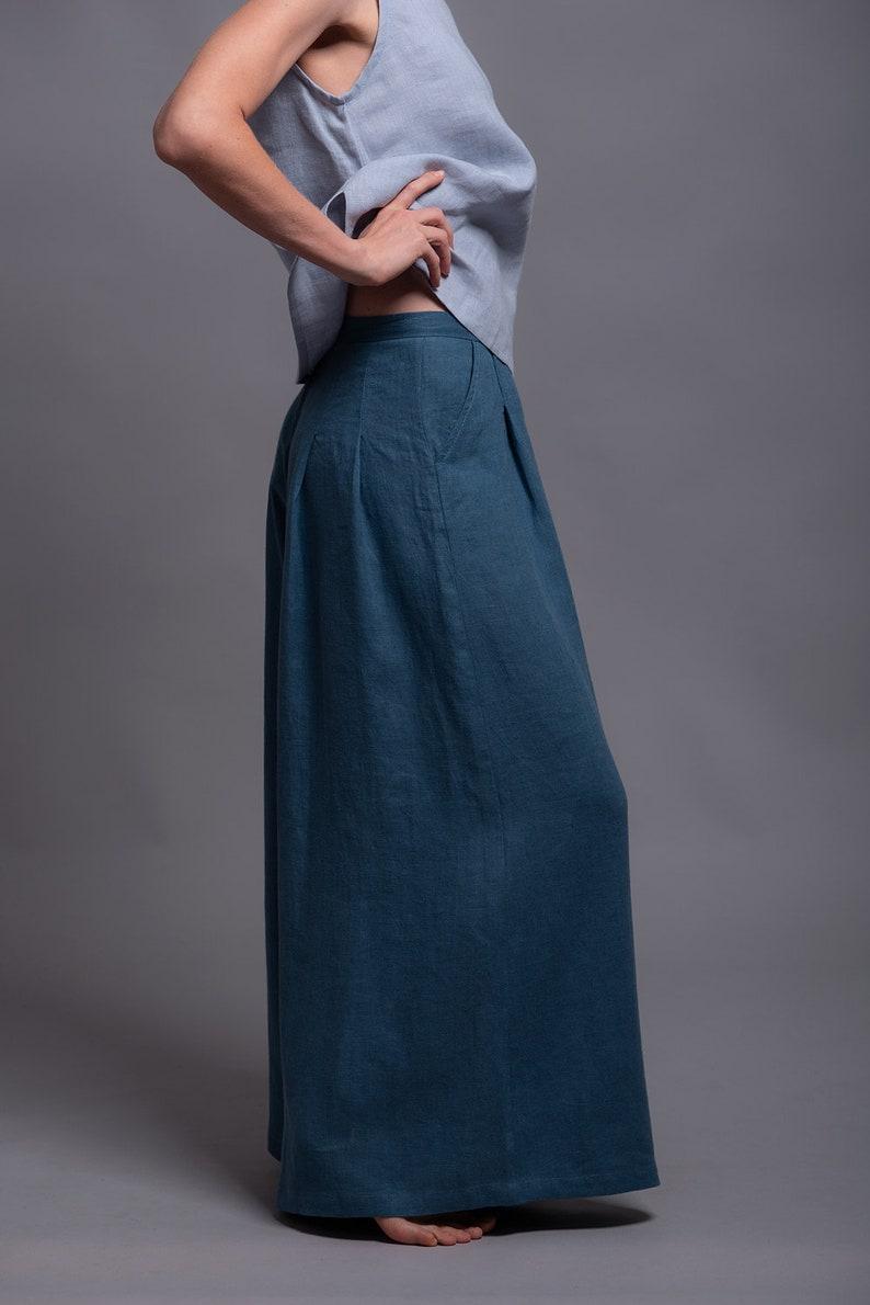 5ae6c5088cd Linen Tank Top MAHA Sleeveless Summer Blouse Shirt Tee Women