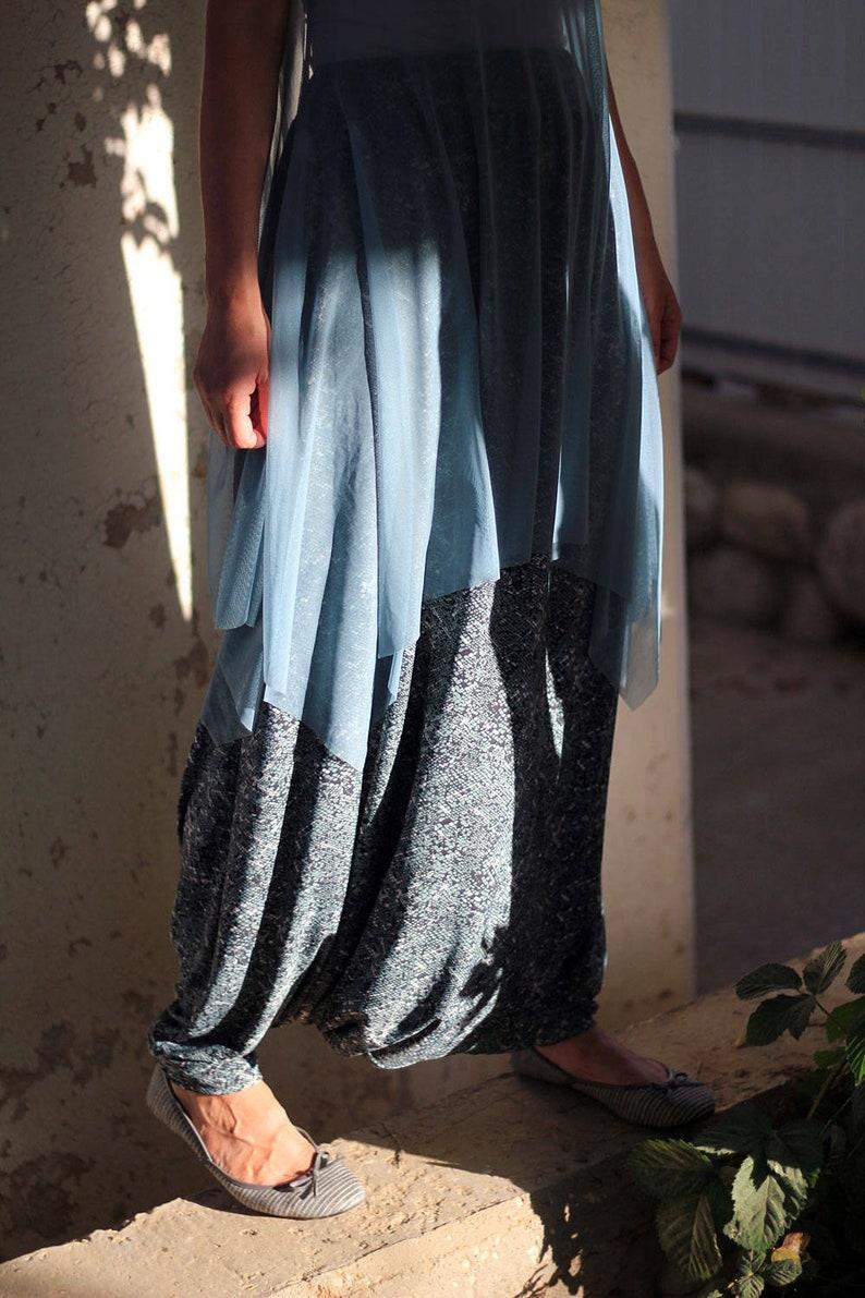94c0be6bd2 Drop crotch Harem Skirt Pants Women's Casual trousers | Etsy