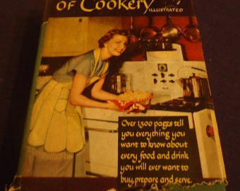 Wise Encyclopedia of Cookery- Illustrated-1949