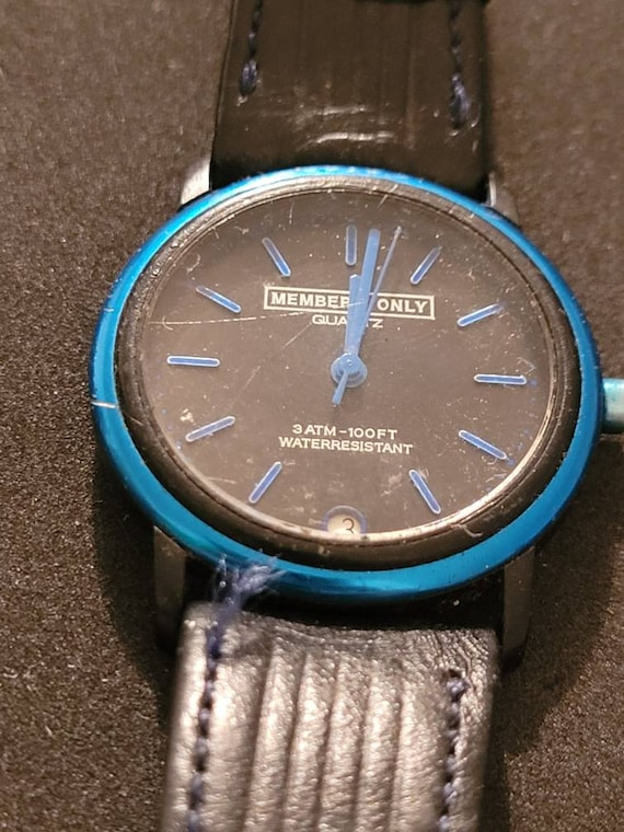 Vintage Members Only 3atm 100 ft Watch