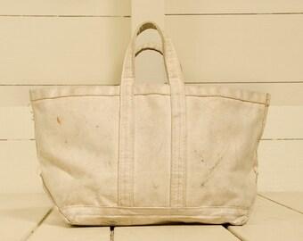 Strange Ll Bean Canvas Bag Etsy Inzonedesignstudio Interior Chair Design Inzonedesignstudiocom