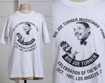 05b1c7dd5 90s Big Joe Turner American Blues Artist Music Festival T Shirt