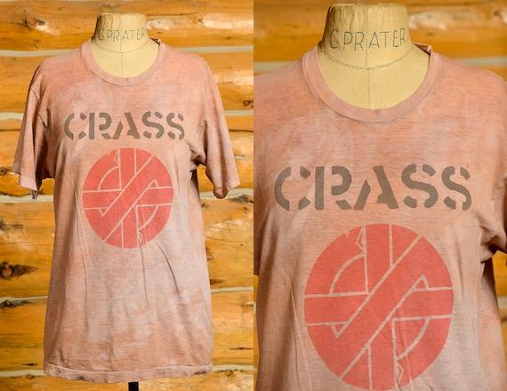 1980s Crass Christ The Album Punk T Shirt