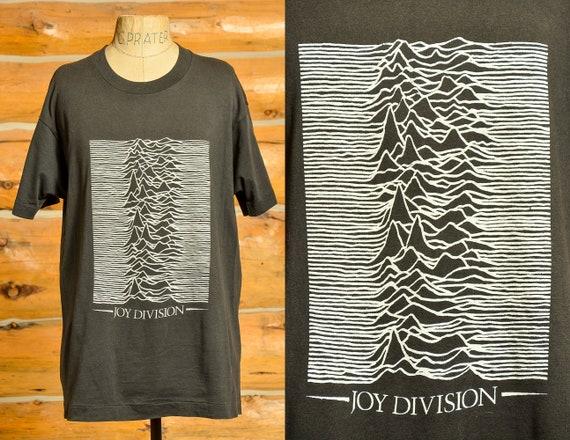 1980s Joy Division Unknown Pleasures Album Black C