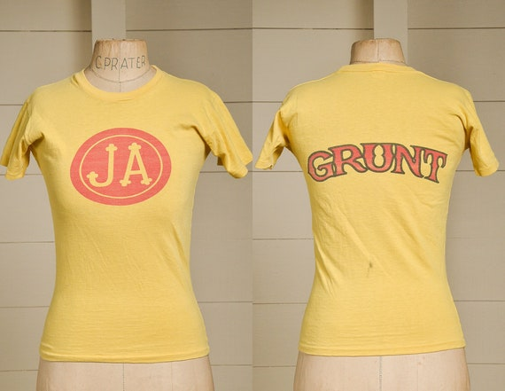 1970s Jefferson Airplane Grunt Records Yellow Cott