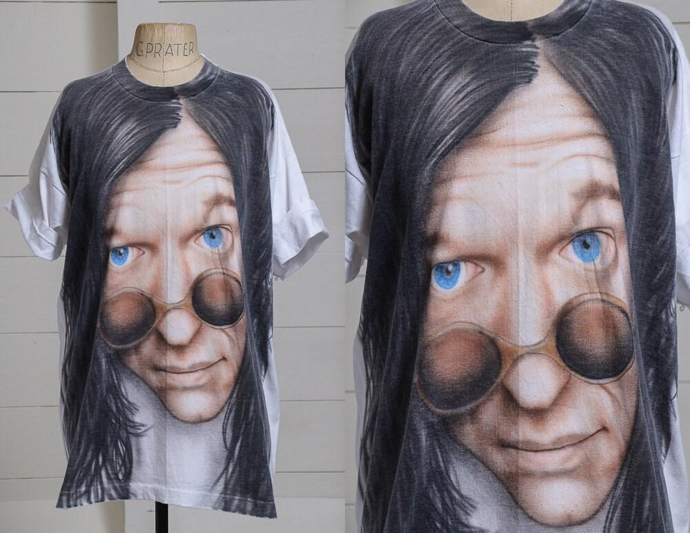 90 Howard s Howard 90 Stern aérographe surdimensionné T Shirt 05959c