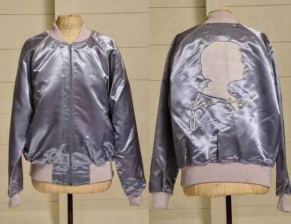 1980s France Souvenir Jacket The Cloth Tattoo Grey