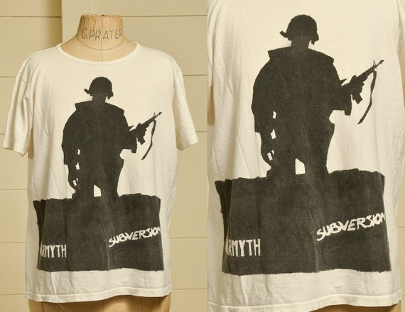 1980s Subversion Warmyth Punk Tee