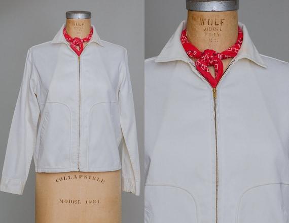 1950s Rockabilly Coat Jeanies by Blue Bell Zip Up