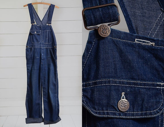 1930s Womens Workwear Overalls Strong & Reliable D