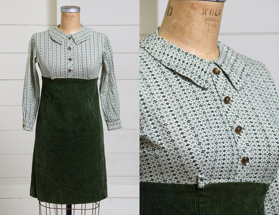 60s Mod Shift Dress Psychedelic Mosaic Novelty Pri