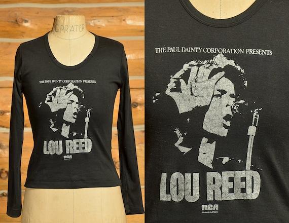 1970s Lou Reed Paul Dainty Presents Long Sleeve Bl