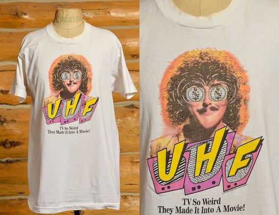 1980s Weird Al Yankovic UHF Movie Promo T Shirt