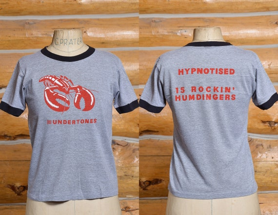 1980s Undertones Hypnotized Front and Back Print P