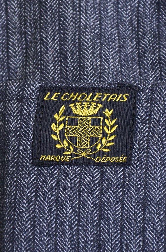 1940s Deadstock French Chore Jacket Workwear Herr… - image 7