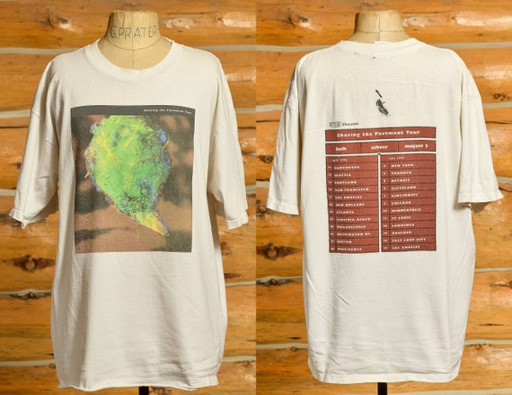 1996 Lush Shaving the Pavement Tour Front and Back