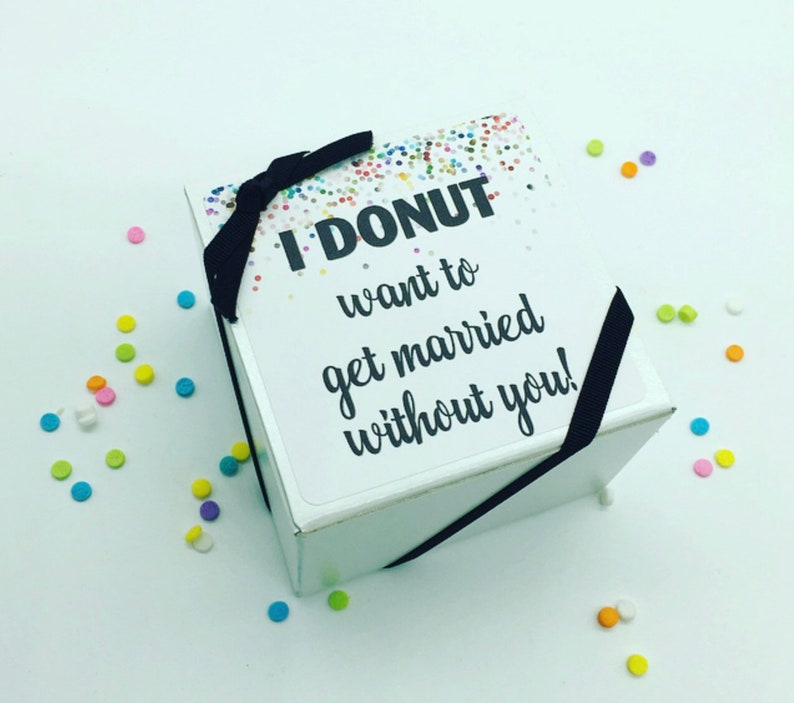 Wedding Party Proposal Maid of Honor Proposal Will you be my image 0