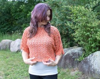 PDF Crochet PATTERN Brexley Crop Top