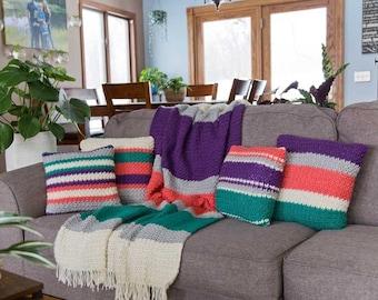 PDF Crochet PATTERN Daydreamer Pillow