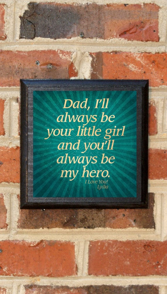 3b62eee0e656 Custom Father s Day Gift Present Wall Art Sign Plaque Dad