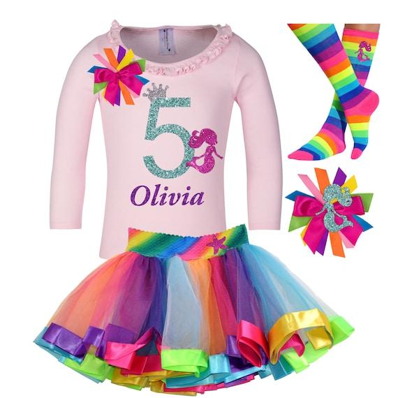 Bubblegum Divas 10th Birthday Girl Shirt Mermaid Personalized 10