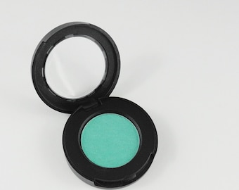 Blue Green  Matte Pearl Makeup Eyeshadow  Pressed Compact   Eye Shadow Flower Child