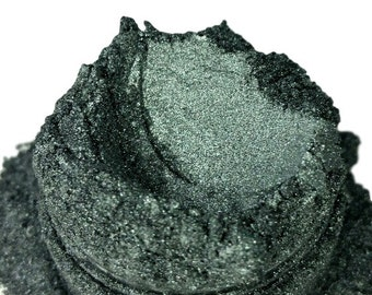 Cirroc  Grey Gray  Mineral Eye Shadow  Vegan Natural Mineral Mica 10g Sifter Jar Smokey Eyes