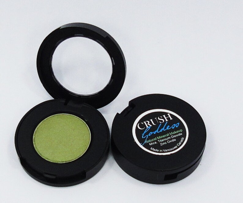 Goddess Matte Olive green Makeup Eyeshadow Pressed Compact Eye Shadow