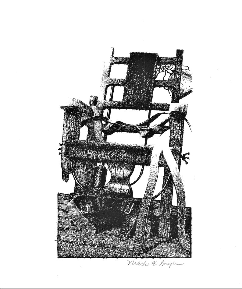 Open edition print of Electric Chair from The Green Mile by image 0