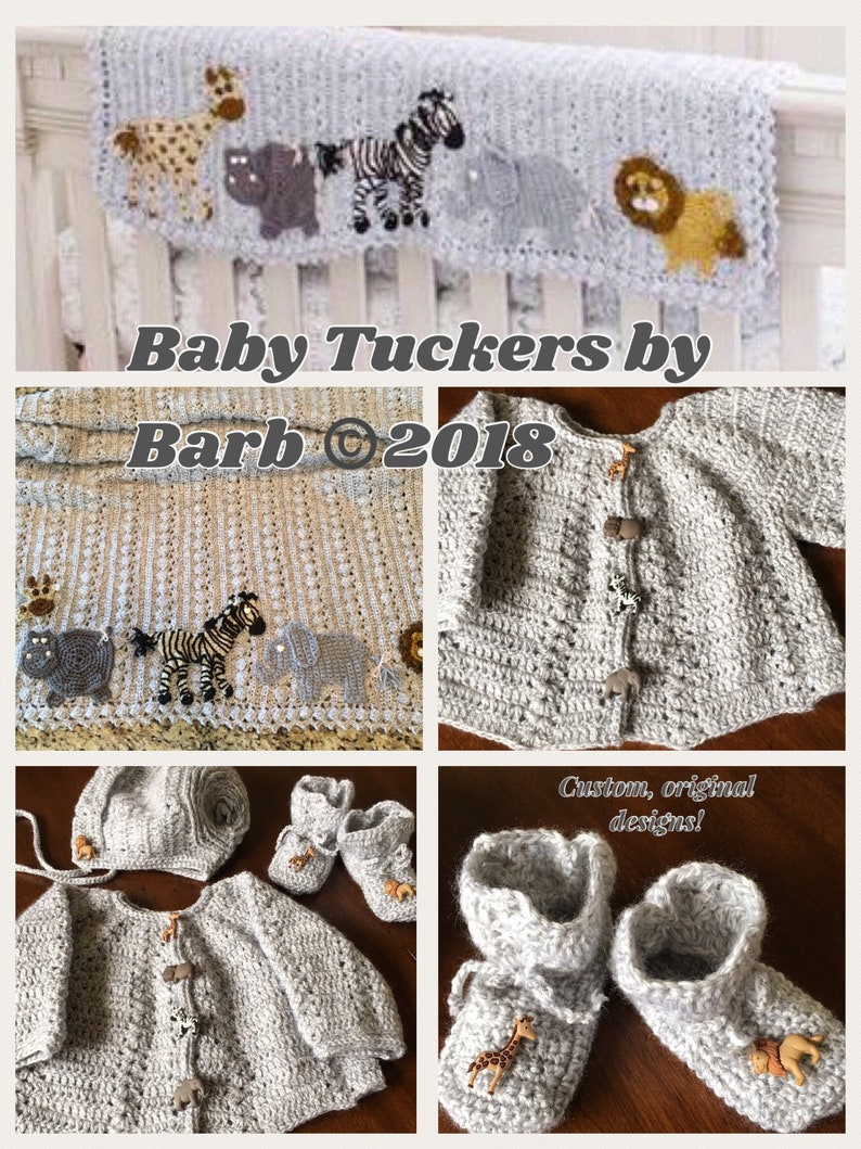f30867864 Crochet Baby layette set AND blanket sweater