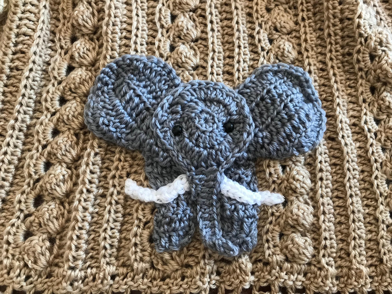 Elephant Blanket Free Crochet Pattern - Yarn & Hooks | 2250x3000