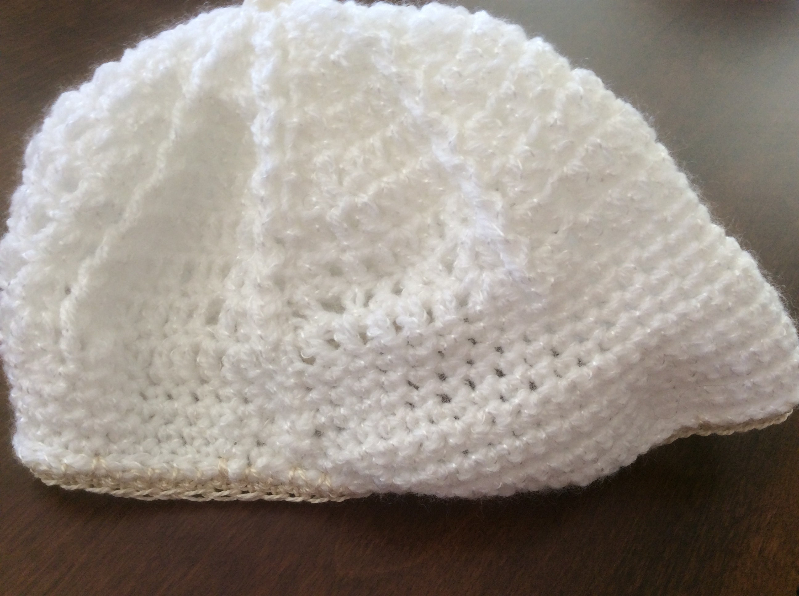 Crochet Baby Layette 4 Piece Set Handmade Welcome Home Outfit Long