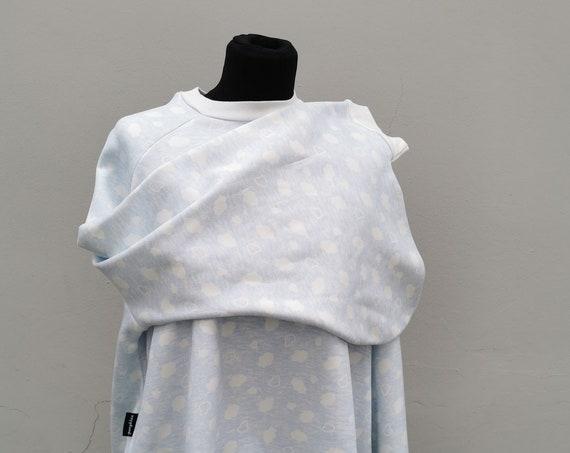 Kimono Pullover 'Wölkchen'