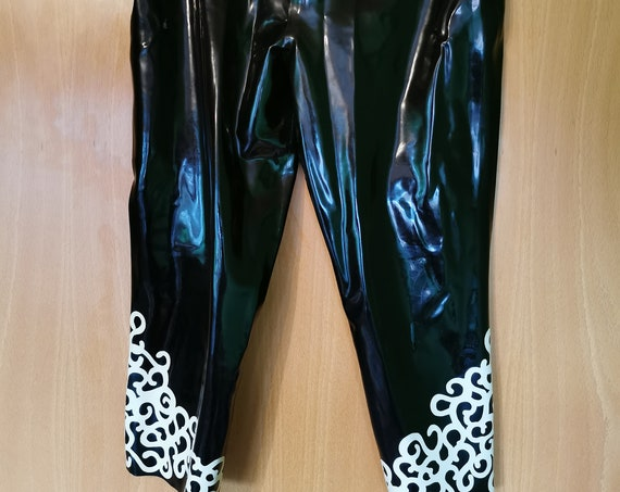 Latex Capri Hose