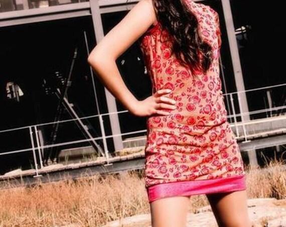 Kleid 'Vintage Pink'