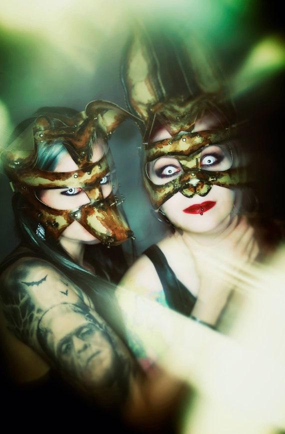 Maske 'Fuchs bemalt' - Sale