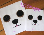 Dog Eyes and Nose Machine Embroidery Design - Dog Eyes and Nose Embroidery - Dog Eyes Embroidery Design - Dog Face Embroidery Design