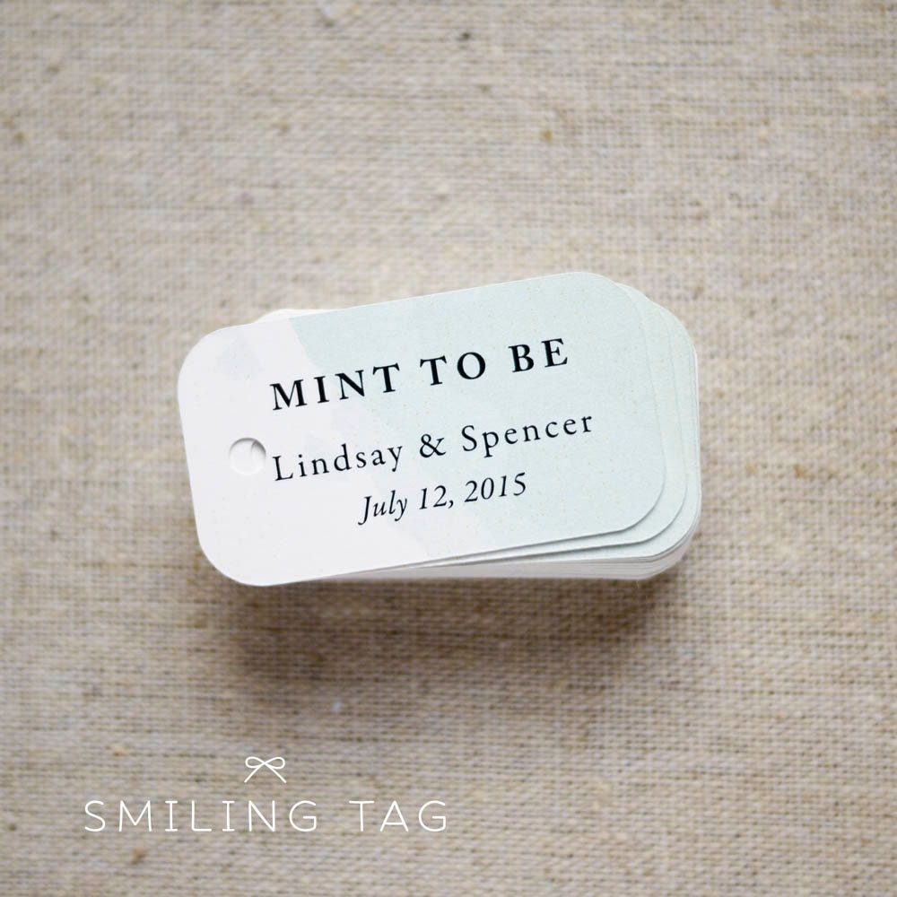 Dorable Mints Wedding Favors Gallery - The Wedding Ideas ...