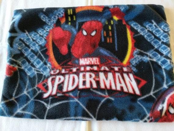 Spiderman fleece travel pillow cover