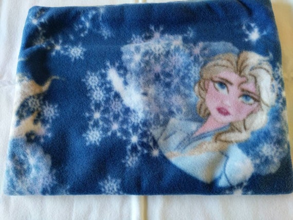 Elsa fleece travel pillow cover