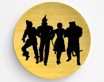 Melamine Plate Wizard Of Oz