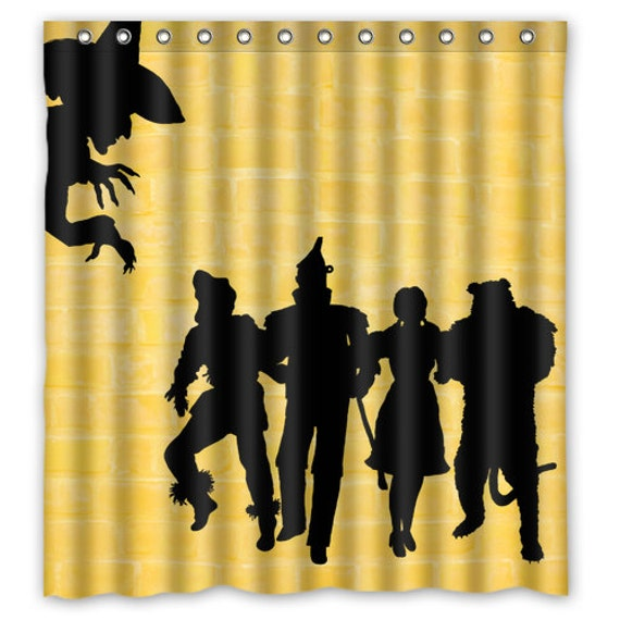 Wizard Of Oz Shower Curtain Wicked Witch