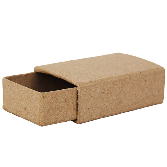 Small Match Box Plain Cardboard Matchbox Mini Craft