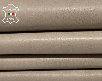 GREY DISTRESSED soft Italian lambskin lamb sheep leather skin skins hide hides 5sqf 0.7mm #A8365