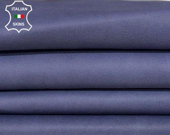 NATURAL BLUE VEGETABLE tan soft Italian lambskin lamb sheep leather hides hide skin skins 6sqf 0.7mm #A8296