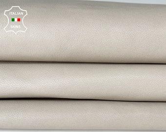 BONES BEIGE IVORY soft Italian Lambskin Lamb Sheep leather skin hide skins hides 5sqf 1.1mm #A8139